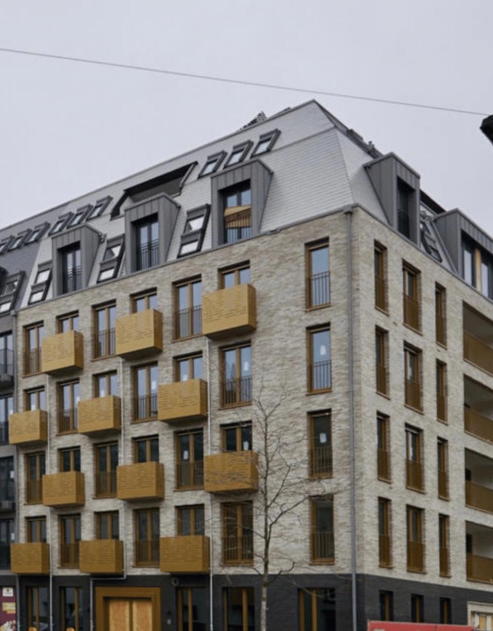 Sanierung Wohnanlage Frankfurt Bornheim
